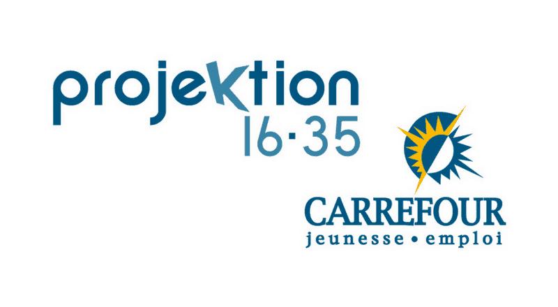 Projektion 16-35/Carrefour  jeunesse-emploi