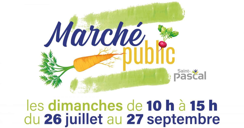 Marché public de la Ville de Saint-Pascal